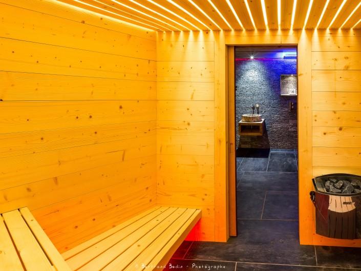Rif Blanc Sauna Atelier Monts & Merveilles Serre-Chevalier
