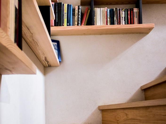Appartement Vieux Village Escalier Atelier Monts & Merveilles Serre-Chevalier