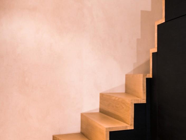 Appartement Vieux Village Escalier Atelier Monts & Merveilles Serre-Chevalier 3
